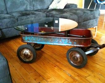 Vintage Wagon Table