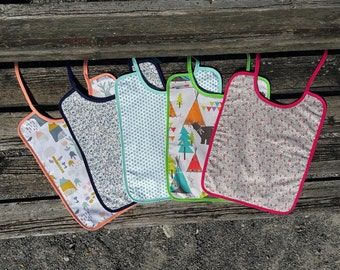 Bib • several patterns to choose from