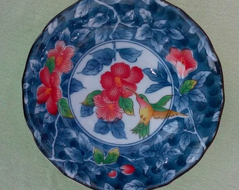 Blue porcelain bowl for Andrea by Sadek