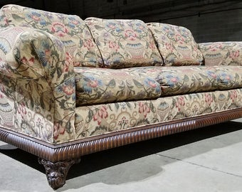 High End Tomlinson Erwin Lambeth Down Designer Sofa (Contact us for a shipping quote)