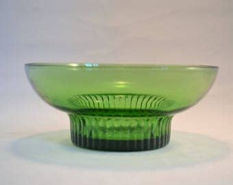 Vintage Green A L Randall Co. Candy Dish