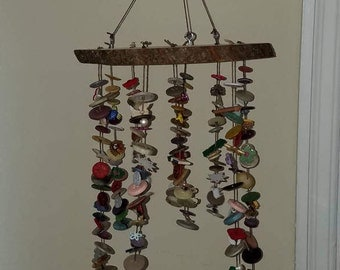 Button Mobile/ Wind chime!
