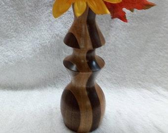 Flower vase/ Wood turning/