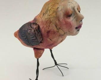 Polymer Clay Bird Peep