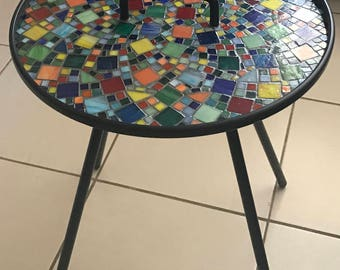 Hand Crafted Mosaic Table