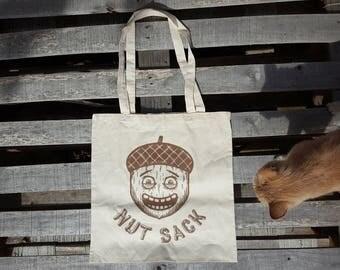 Nut Sack Tote Bag