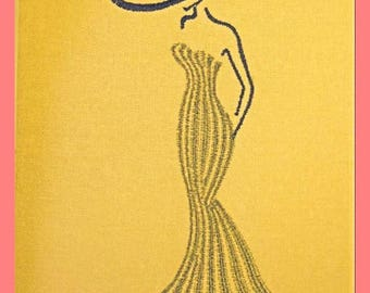Embroidery file Sophie 13 x 18, machine embroidery, embroidery designs, embroidery motif