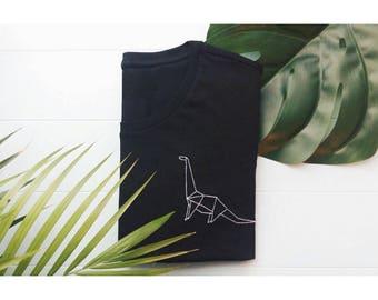 Embroidered Dino T-Shirt / Camiseta Bordada Dino