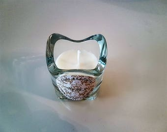 White soy candle - fragrance Vanilla