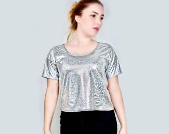 Snakefoil Holo Shirt Silver - HoloLand
