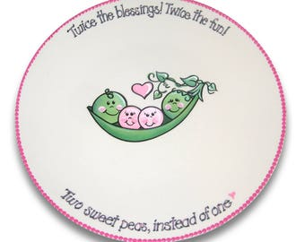 Sweet Pea Baby Shower Signature Platter