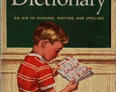 Young Readers Dictionary An Aid to Reading, Writing and Spelling - Flora Smith - 1958 (?) - Vintage Kids Book