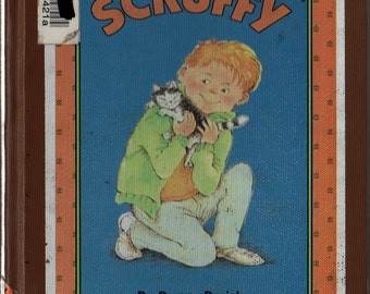 Scruffy An I Can Read Book - Peggy Parish - Kelly Oechsli - 1990 - Vintage Kids Book