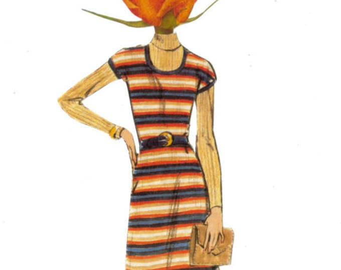 Rose Art, Retro Fashion Artwork