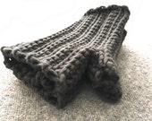 Black as Night - Crochet Fingerless Gloves men, survival gear, fingerless gloves for women cotton and nylon gloves, fifty shades of grey