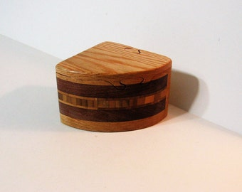 Puzzle Box Made Of Three woods
