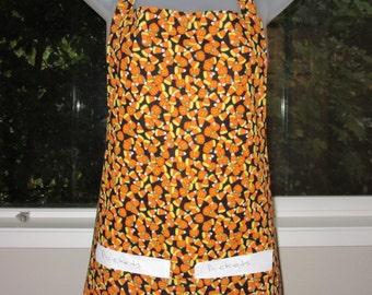 aprons for halloween - halloween apron - halloween candy