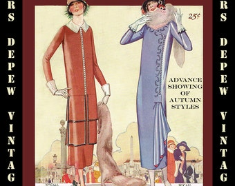 Vintage Sewing Pattern Catalog Booklet McCall Quarterly Fall 1924 PDF Digital Copy -INSTANT DOWNLOAD-