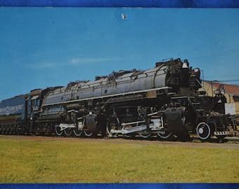 Railroad Locomotive Three Spot Iron Range Two Harbors Minnesota Standard Postcard