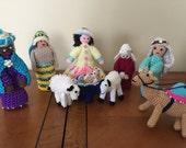 Crochet Nativity Set - amigurami Christmas