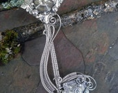 Gothic Steampunk The Power of the Keys Pendant