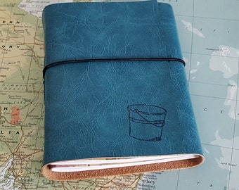 bucket list journal with maps as a travel journal- tremundo