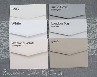 "A2 - 4x5"" Envelopes 