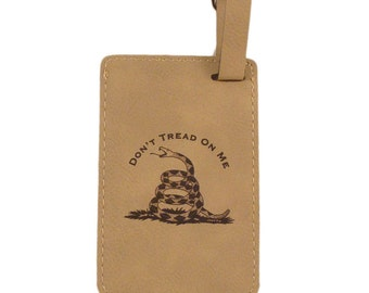Don't Tread On Me Luggage Tag