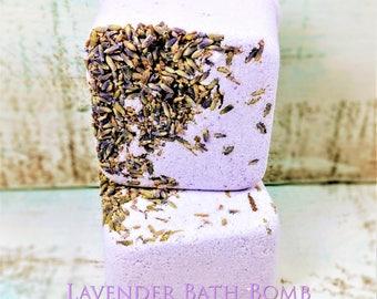 Lavender Bath Bomb, bath fizzie, natural bath bomb, relaxing bath bomb, bath bomb gift, lavender gift, gift for mom, gift for women, vegan