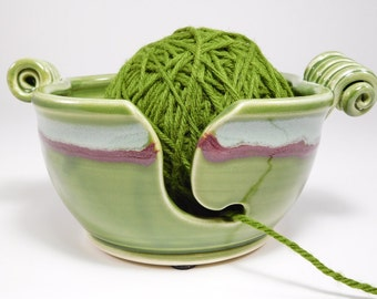 Yarn Bowl Pottery - Crocheting Bowl - Crochet Yarn Bowl - Knitting Yarn Bowl - Pottery Knitting - Ceramic Knitting - Crochet Bowl - In Stock