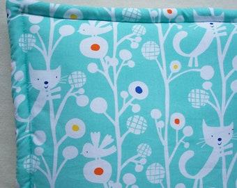 Catnip Filled Cushion - Blue Cat Mat