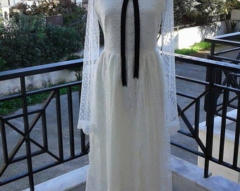 Sample Sale Vintage Style Wedding Dress Victorian Chick Handmade Wedding Dress