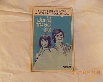 I'm a little bit country a little bit rock n roll sheet music Donny and Marie