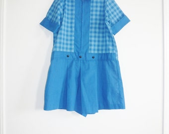 Vintage Junior Blue Romper