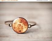 Venus Bracelet - Space Jewelry - Venus jewelry - Solar System jewelry - Orange Bracelet - Venus planet - Solar system bracelet (BT019)