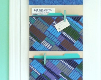 Wall or Door Hanging Organizer in a Two Pocket Design