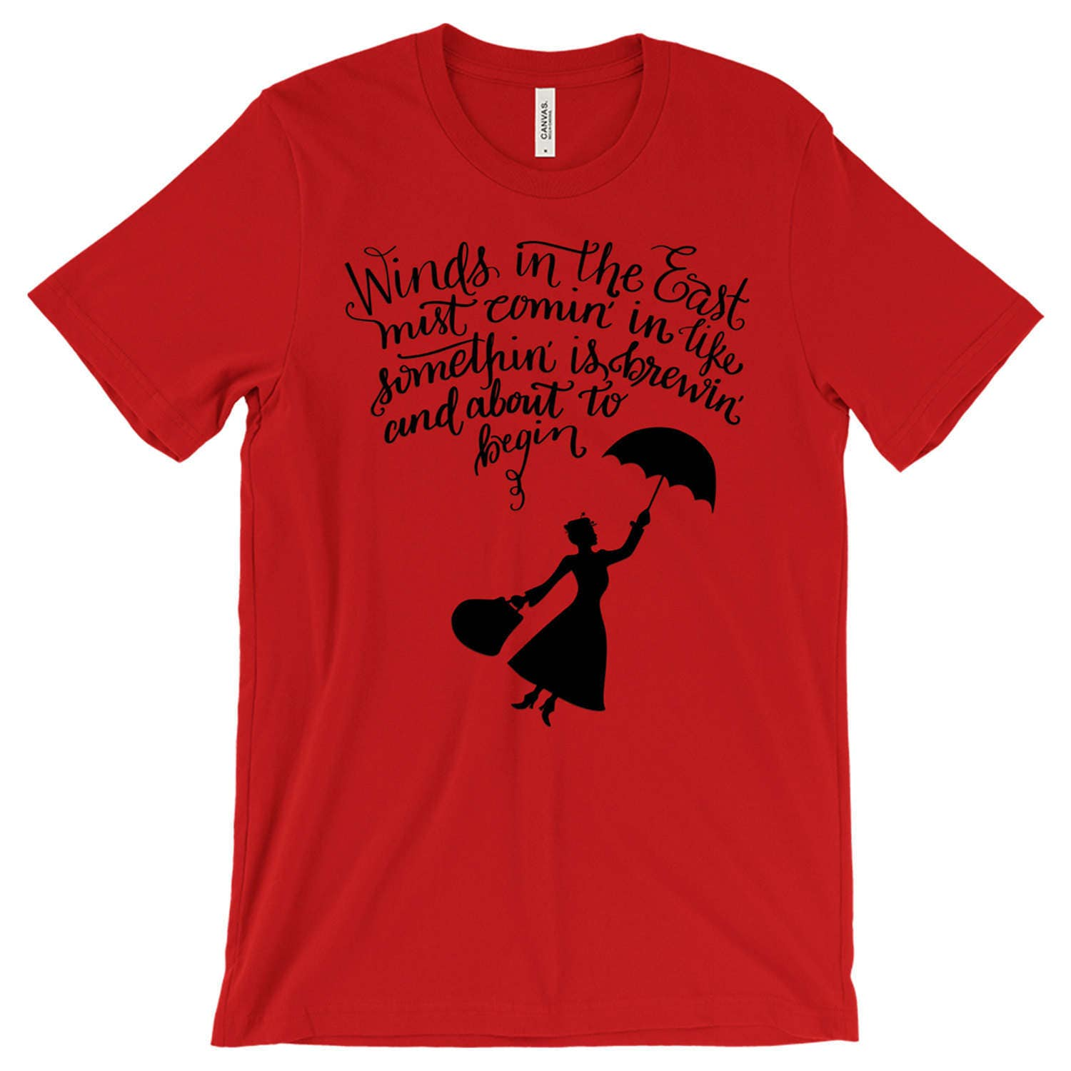 Mary Poppins - Unisex T-Shirt - Multiple Color Options