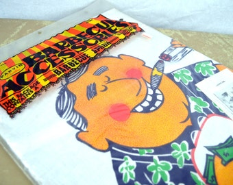 Vintage Big Daddy WOW Apron - NIB Sealed Package by Parvin