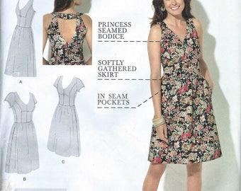 UNCUT Simplicity Dress Pattern 1354 Size 10-18 Amazing Fit Collection
