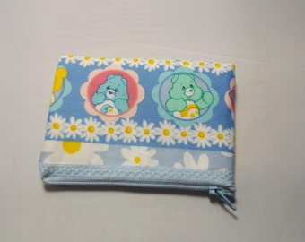 Care bears  Fabric  Coin Purse-Handmade  American Greetings Funshine Bear