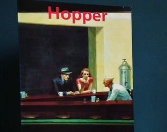 Edward Hopper 1882 - 1967 Transformation of the Real Rolf Gunter Renner 1993 vintage 1990s art book American painter USA oil paintings