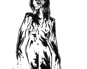 Inktober 2016 No 11 - 5.5 x 7.5 Ink Drawing