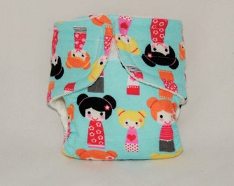 Baby Doll Diaper - Little Dolls - Size Large