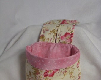 Stay Put Pouch Wheelchair Caddy Rose Floral