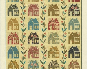 """QUILTING FUN (Quilt Pattern):  """"Homestead"""" - Design by Laundry Basket Quilts"""