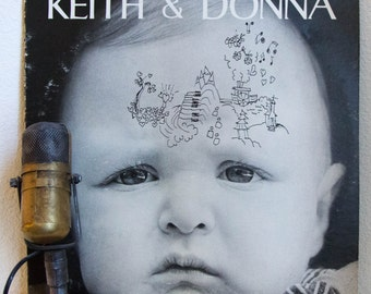"ON SALE Keith and Donna Godchaux (Grateful Dead) 1970s Rock and Roll Rhythm and Blues Hippie Stinson Beach ""Keith & Donna"" (Original 1975 Ro"