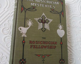 The Rosicrucian Mysteries by Max Heindel -  1916 Rare Antique Book -  The Rosicrucian Fellowship