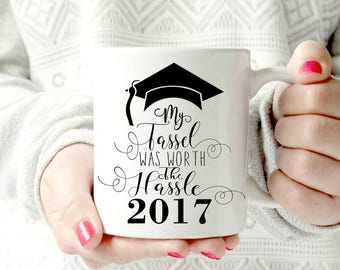 2017 Grad Mug Congratulations Congrats College grad.Graduation Gift Graduating College High School Grad Graduate Mugs For Her Him Friend
