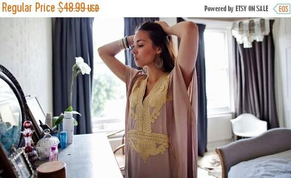 Summer Trendy Clothing,Beige Marrakech Resort Caftan Kaftan -beach cover ups, resortwear,maxi dresses, birthdays, h