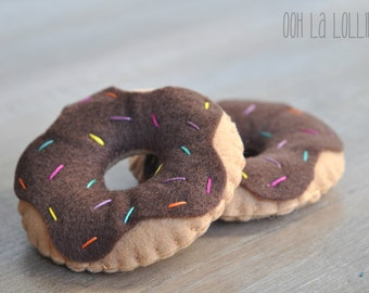 Felt Donuts, great for pretend play!